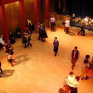 Tánctanítás a Tázló táncházban - fotó: Skopp Júlia - 2014. 01. 10.