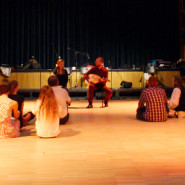 Énektanítás - Tázló táncház az Eötvös10-ben 2014. 01. 10. - fotó: Skopp Júlia