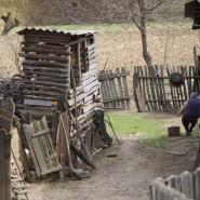 Csángó udvar - Csík (Moldva)