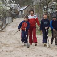 Csángó gyerekek - Csík (Moldva)