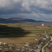 Látkép Forrófalva felé - Klézse (Moldva)